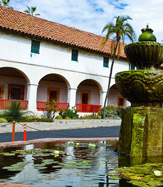 Explore Old Mission Santa Barbara
